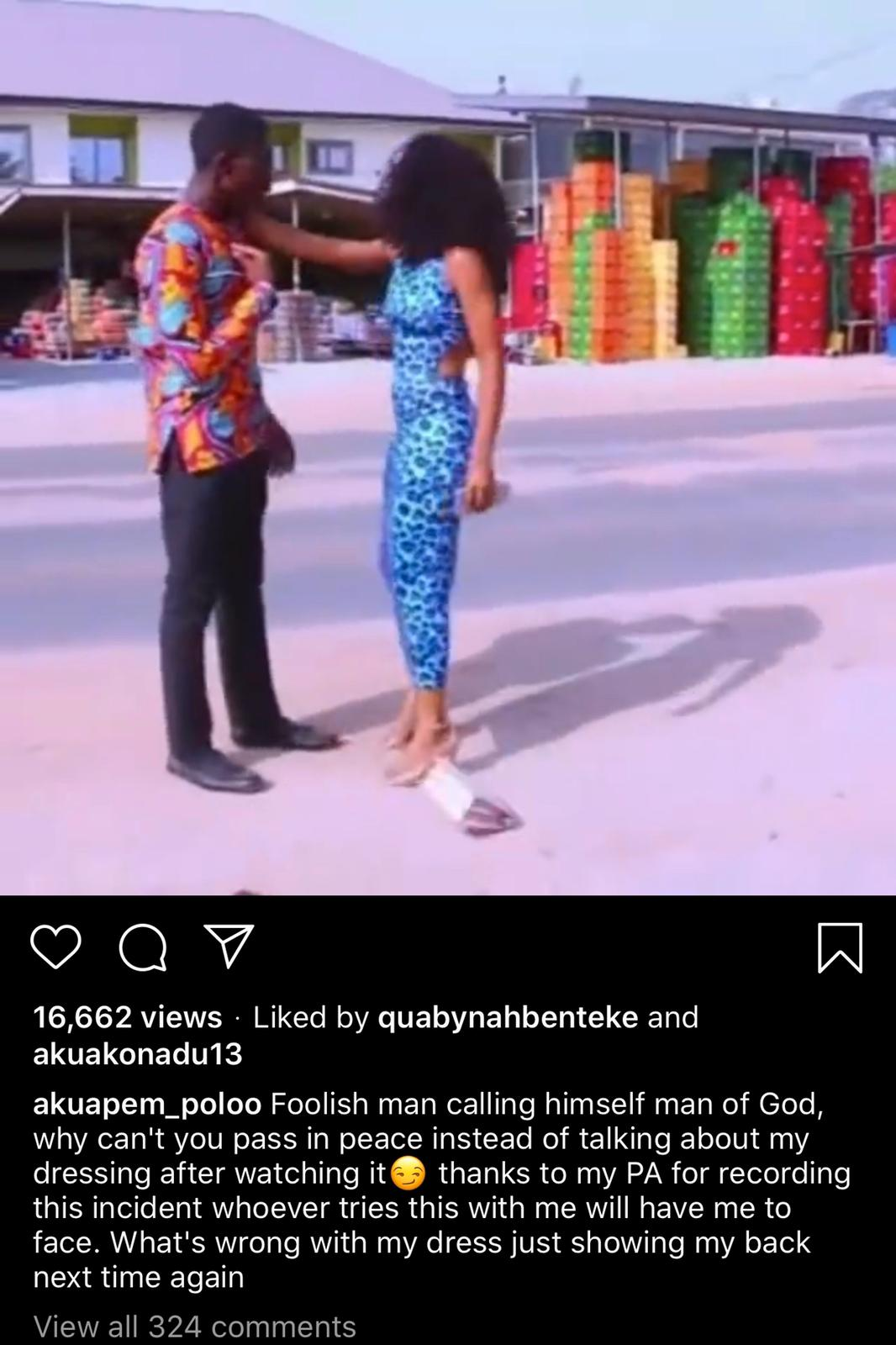 Wahala As Akuapem Poloo 'Slaps' Popular Man Of God For…